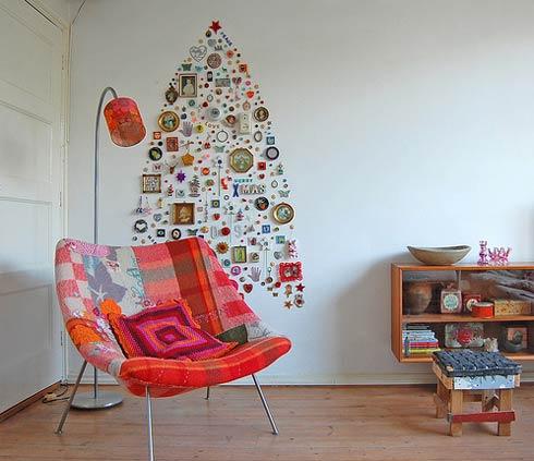 Arbolitos de Navidad a prueba de bebés
