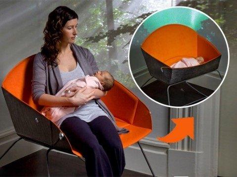 Mecedoras de diseño para mamás y papás
