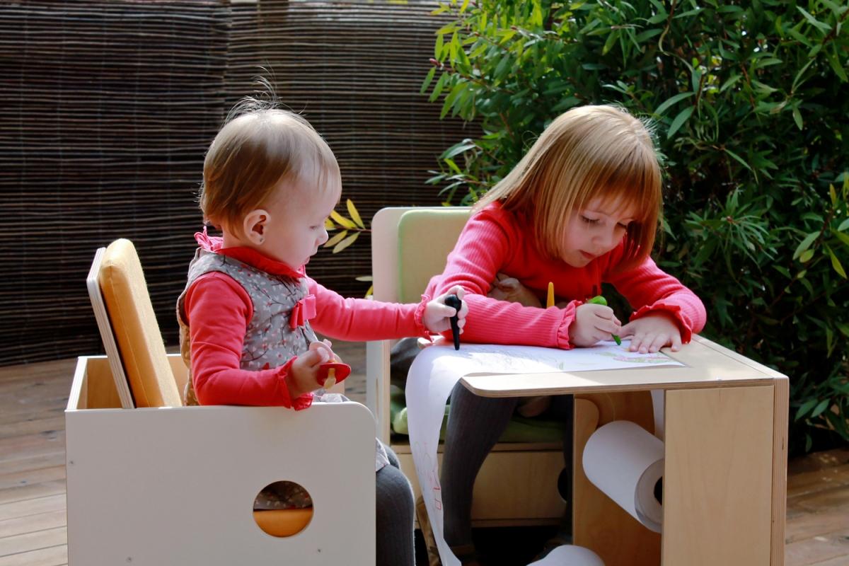 mobiliario para gemelos nuun kids design roomroombebe