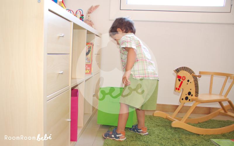 Habitación infantil viviendo de alquiler
