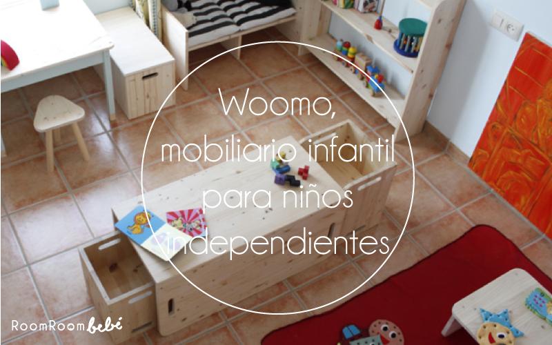 Woomo, mobiliario infantil para niños independientes
