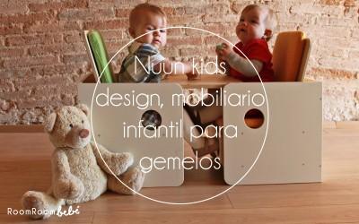 Nuun kids design, mobiliario infantil para gemelos