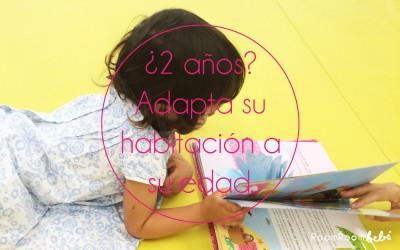 Cómo adaptar su habitación si ya tiene 2 años