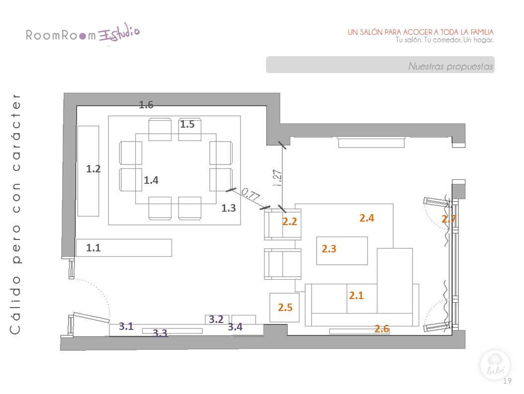 Decoración de salones: renovando un salón con historia.